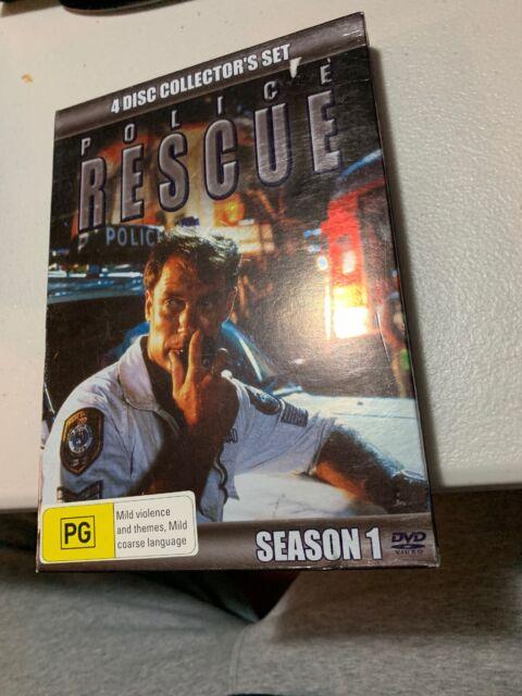 Police Rescue : Season 1 (DVD, 2006, 4-Disc Set)