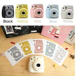 cute floral stickers decoration polaroid fuji film instax