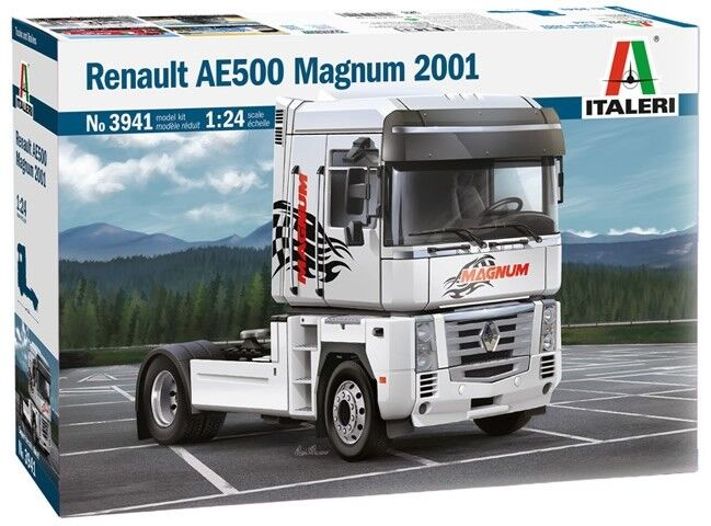 Italeri 1 24 Renault AE500 Magnum 2001