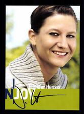 Jennifer Hansen N Joy Autogrammkarte Original Signiert # BC 59104