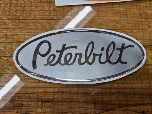 replacement peterbilt emblems genuine decals red white black blue new green