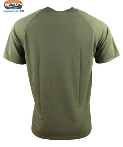 Green Operator Mesh Armour T Shirt Quick Drying Wicking Stretch Fit Airsoft