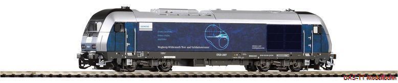 TT Diesel HERKULES er20 - 2007 Siemens EP. vi PIKO 47597 NUOVO
