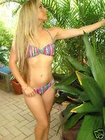 Authentic Victorias Secret Twist Bandeau Bikini Set S
