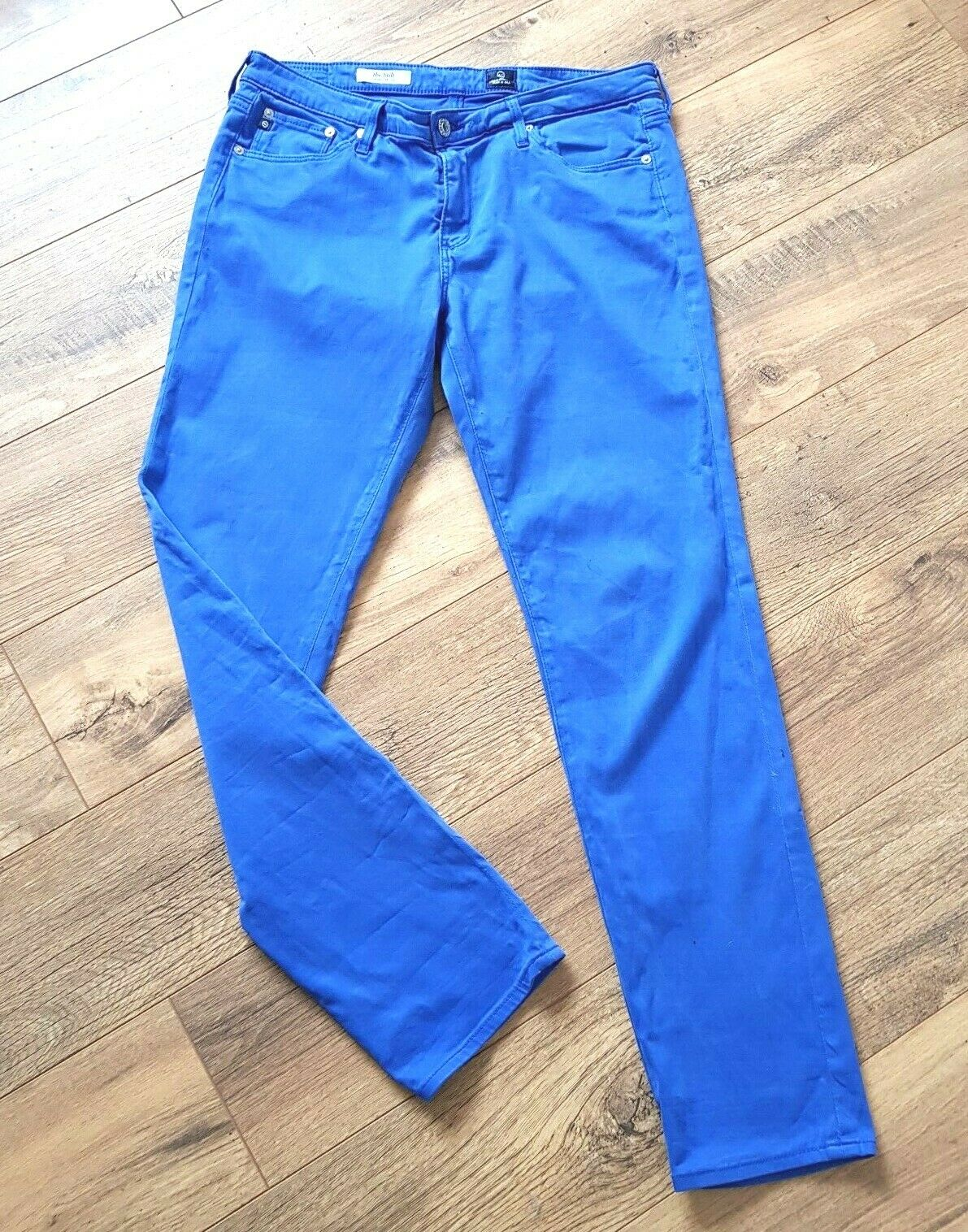 AG ADRIANO goldSCHMIED Stilt Cigarette Jeans Sz 31  Slim Straight Skinny blueE