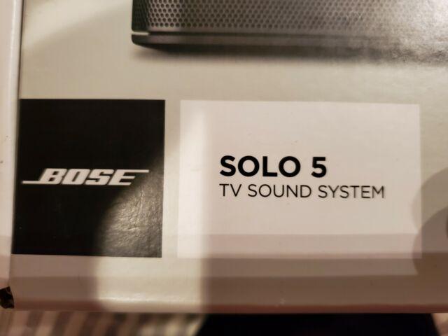 Bose solo 5 sound bar