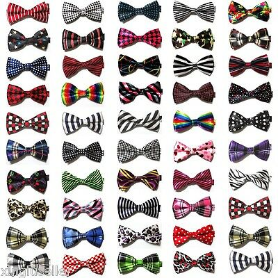 LOT 30 Patterns Mens Silk BOW TIE Novelty Tuxedo multi color Wedding Pre Tied