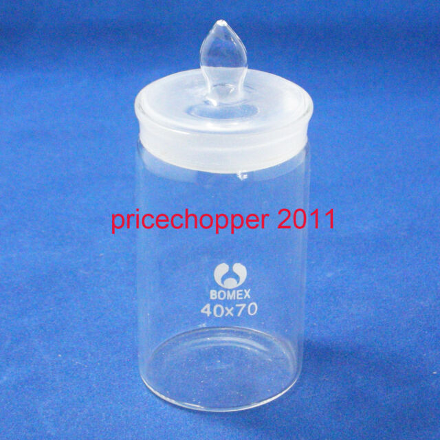 Lab Glass Weighing Bottle, Tall Form, 30mmx50mm