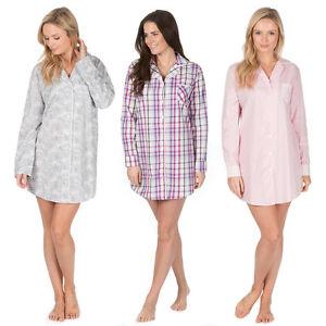 16e864b290 La imagen se está cargando Damas-mujer-ropa-de-dormir-Tejido-100-Pijamas-