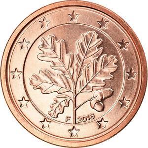 [#796891] République fédérale allemande, Euro Cent, 2016, Stuttgart, FDC, Copper