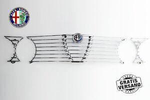KUHLERGRILL-KUHLERGITTER-ALFA-ROMEO-GTV-2000-BERTONE-GT-KOMPLETT-EMBLEM-GRILLE