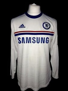 Chelsea-2013-14-Away-Vintage-Football-Shirt-L-S-Good-Condition