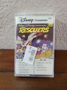 "Rare 1985 Walt Disney Productions ""The Rescuers"" Disneyland Cassettes Tape NEW"