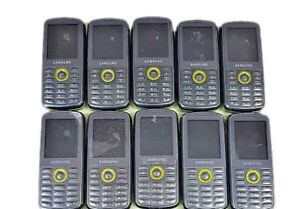10 Lot Samsung Gravity SGH-T456 FIDO Slider Mobile Cellular Phone GSM Used