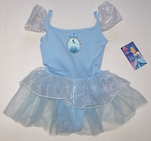 cf5359fb6597 Nwt New Capezio Disney Princess Leotard Dress Tutu Cinderella Blue ...