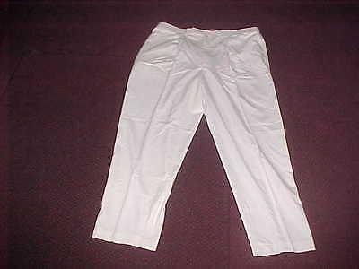 NEW CREAM White MARVELLOUS PANTS AMAZING Leggings EXCELLENT QUALITY PANTS Medium