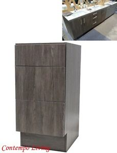 12 European Style 3 Drawers Bathroom Vanity Cabinet Walnut Wood Grain Finish Ebay