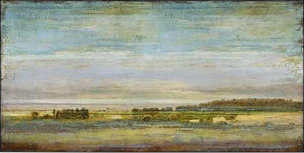 Eric Turner  blu Sky Vista Barella-Immagine Schermo Paesaggio Larghezza
