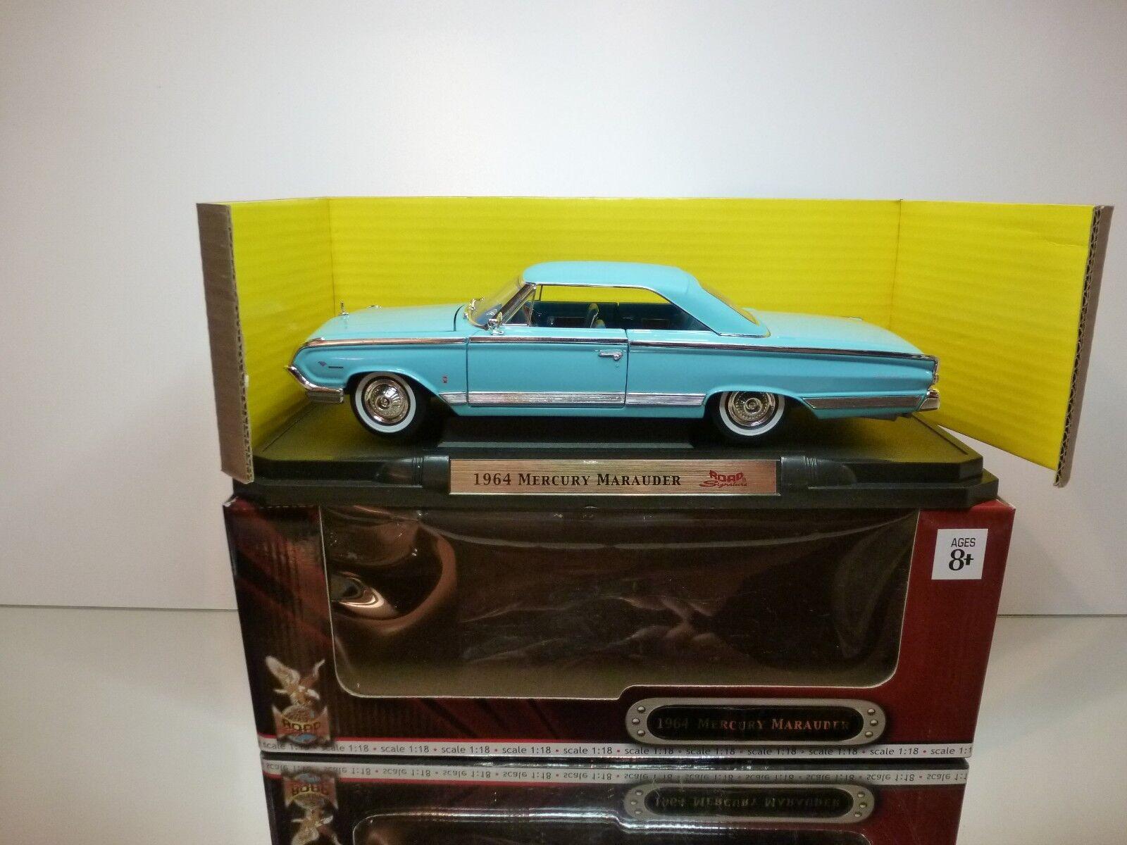 YATMING 92568 MERCURY MARAUDER 1964 PARKLANE - azul 1 18 - VERY GOOD IN BOX