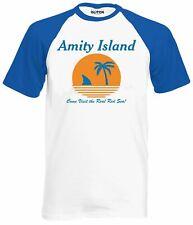 Jaws Movie T-shirt Sahrk Cult Movie Tee 70s 80s 90s Amity Island