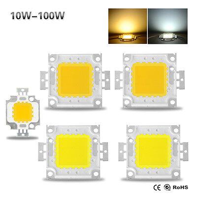 New 10W 20W 30W 50W 100W LED SMD Chip Bulb Bead High Power for Flood Light Lamp