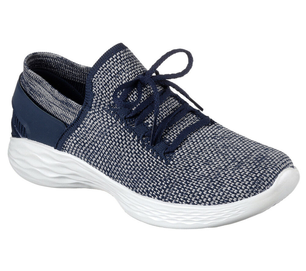 NEU SKECHERS Damen Sneakers - Turnschuhe Slip On YOU - Sneakers INSPIRE-BCA-2017 Blau 4e4b03