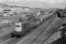 35mm Railway Negative: Class 20 20207 With HAAs, Stirling, 24/08/1979 22/895/450