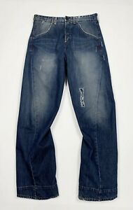 Levis-engineered-002-308-jeans-usato-uomo-W30-L34-tg-44-relaxed-boyfriend-T5448