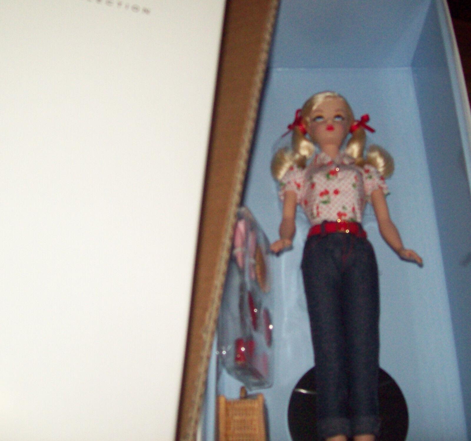 El año 2015 una tarta de cereza De Picnic Barbie Muñeca Nrfb Sauces, Wi Collection Mattel ¡ nuevo