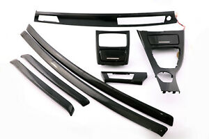 BMW-3-Series-1-E92-Complete-Interior-Trim-Set-Cover-Dashboard-Diamant-Black