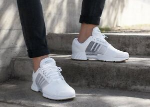 Image is loading adidas-Climacool-1-WHITE-GUM-Trainers-Shoes