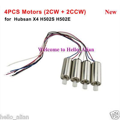 4PCS Original CW/&CCW Motor Engine Hubsan H111 NANO Q4 RC Quadcopter Spare Parts