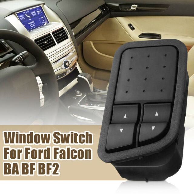 6 Pins Black Door Buttons Electric Power Window Switch for Ford Falcon BA  Bf2 BF