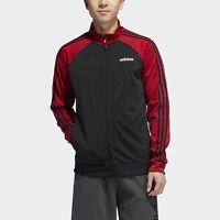Deals on Adidas Mens Essentials 3-Stripes Track Jacket
