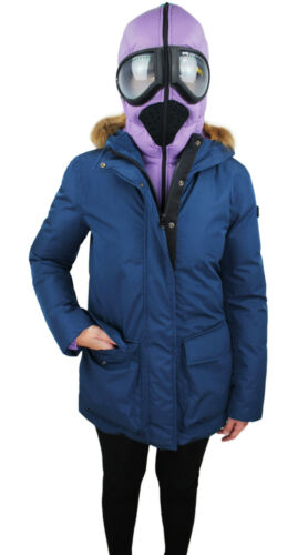 Donna Giacca The Parka Blu Tag Neve 44 40 Ai Giubbotto Storm On 42 Lenti Riders H8UFw