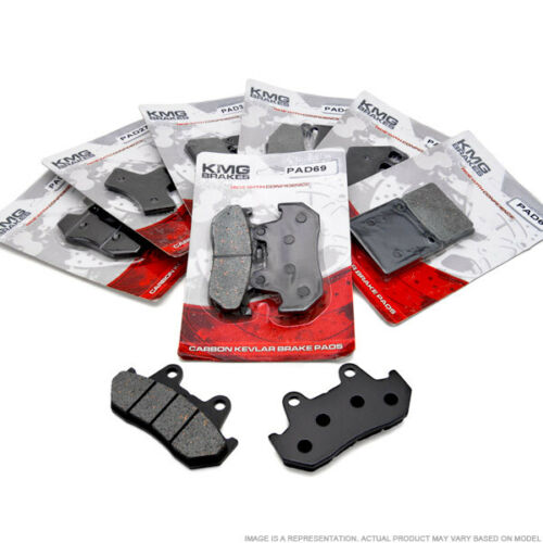 Rear Organic Brake Pads For 2000-2003 Honda GL 1500 Valkyrie Tourer Interstate