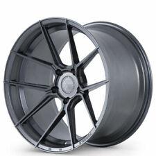 4 20 Staggered Ferrada Wheels F8 Fr8 Matte Graphite Rims B7 Fits 2012 Jeep Grand Cherokee