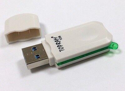 RV39 USB 3.0 microSDXC Card Reader fi Kingston SanDisk 8GB 16GB 32GB 64GB 128GB