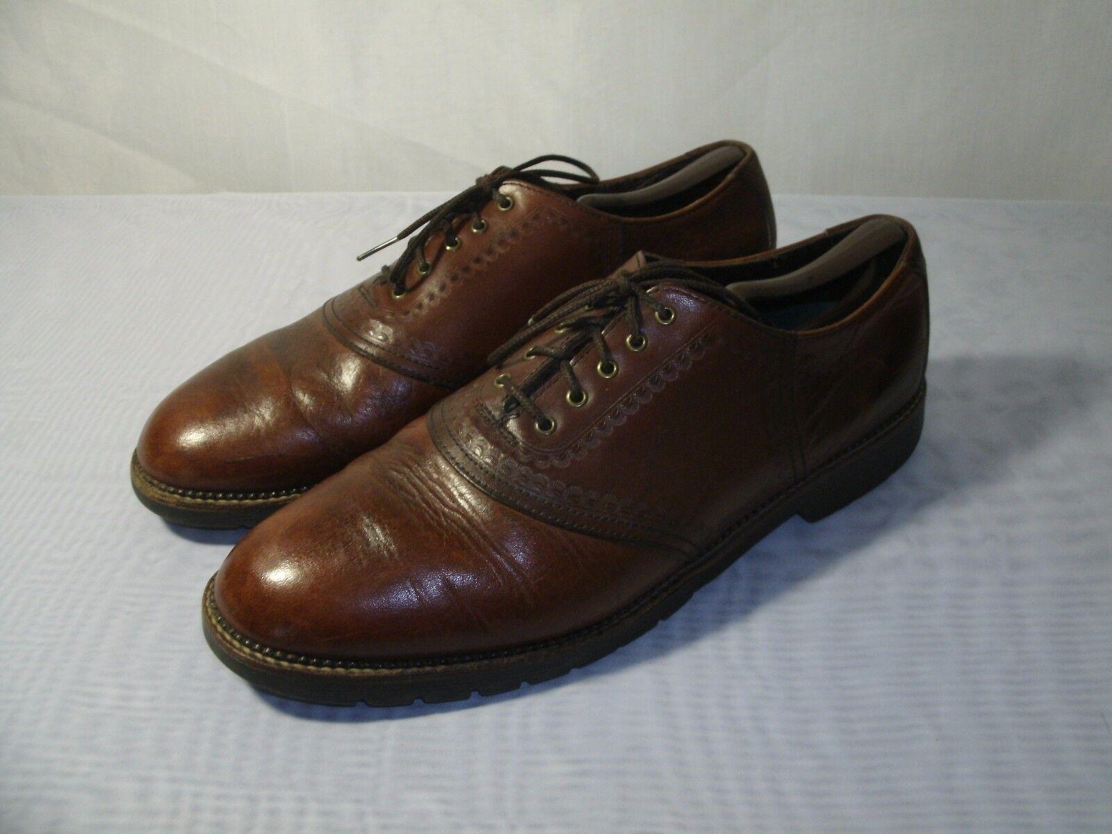 fabbrica diretta H.S. TRASK TRASK TRASK Marrone LEATHER OXFORD DRESS FORMAL scarpe   Dimensione US 12   EUR 46 uomo  le migliori marche vendono a buon mercato