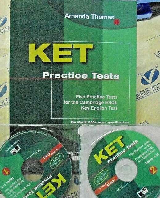 KET PRACTICE TESTS con 2 Cd - AMANDA THOMAS - BLACK CAT CIDEB