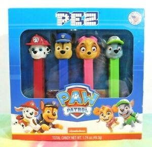 PEZ Chase and Skye Paw Patrol MINT IN BOX
