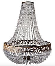 Araña De Montaje De Luz Vintage victoria empedrado luz candelabros de cristal