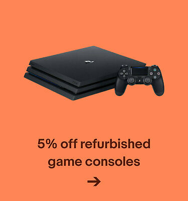 5% off refurbished game consoles