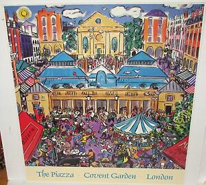 CHRISTOPHER-ROGERS-THE-PIAZZA-COVENT-GARDEN-LONDON-HAND-SIGNED-SMALL-POSTER