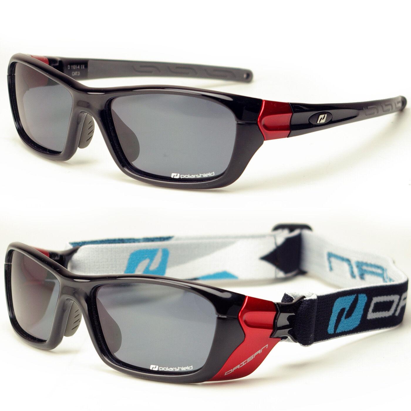Daisan Multisportbrille mit Band - polarisierende Scheiben - Windschutz