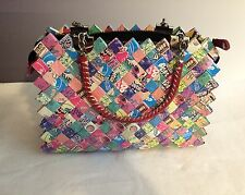 Candy wrapper purse Nahui Ollin