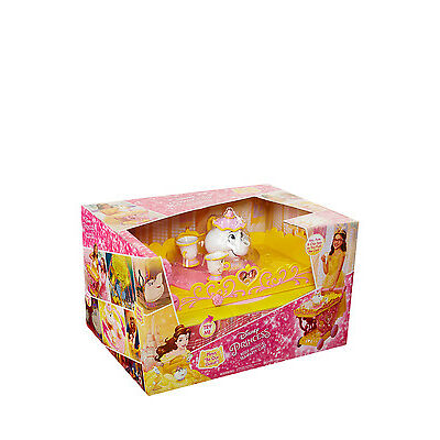 NEW Disney Princess Belle Musical Tea Party Cart