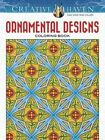 Creative Haven Ornamental Designs Coloring Book by John Alves (Paperback, 2016)