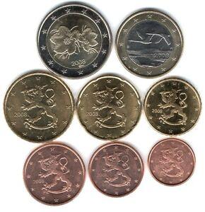 Série Euro Courante Non Circulée (UNC) - Finlande 2012