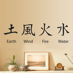 Image Is Loading Chinese Symbol Wall Sticker Art Vinyl Home Decal